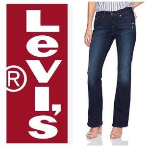 Levis 529 Curvy Bootcut Jeans 4 27x32 Dark Wash